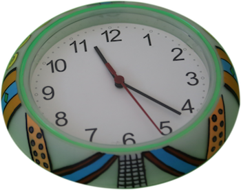 Colorful Clock 1