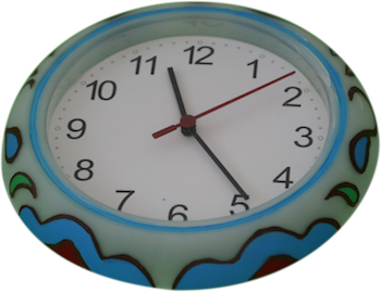 Colorful Clock 3