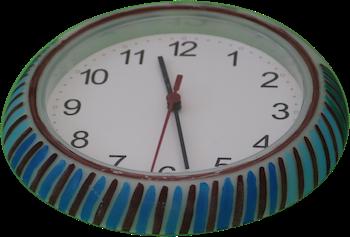Colorful Clock 5