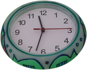 Colorful Clock 4