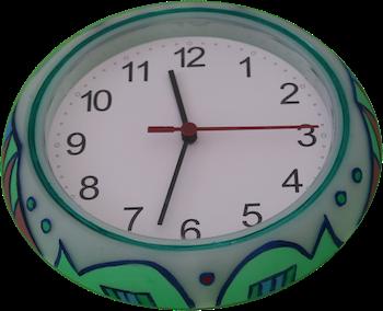 Colorful Clock 4