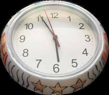 Colorful Clock 2